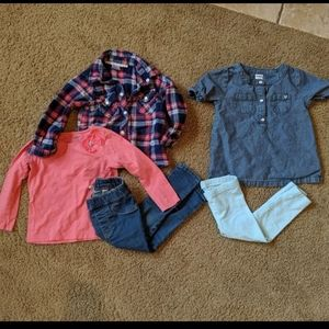18 Month Baby Girl Outfit Lot